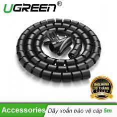 Dây dạng ống xoắn PE bảo vệ các loại dây cáp dài 5m UGREEN LP121 30820 – Hãng phân phối chính thức