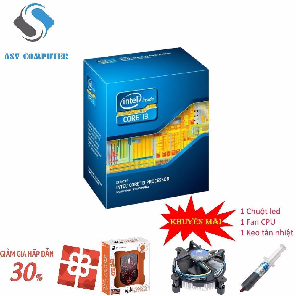 So sánh giá CPU Intel® Core™ i3 3220 3.3GHz(2 lõi, 4 luồng), Bus 1333/1600MHz, Cache 3MB Tại Công ty vi tính Ánh Sáng Việt