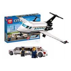 Lego cities 02044- Máy bay chở khách hạng sang