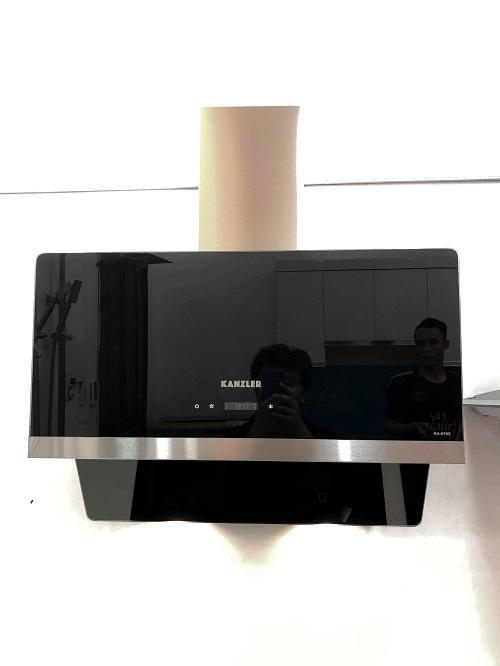 Máy hút khử mùi kính vát Kanzler cao cấp KA- H70X