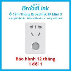 Ổ Cắm Thông Minh Wifi Thế Hệ Mới Broadlink Sp Mini 3