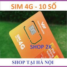 Giá sốc Thánh sim 4G 10 số (052) Vietnamobile FREE 120Gb/tháng – shop 2k Tại Shop 2K