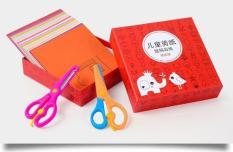 Bộ cắt giấy 240 hình ngộ ngĩnh cho bé ( kèm 2 kéo cắt )