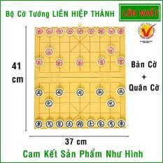 Bộ cờ tướng + bàn cờ Liên Hiệp Thành Size LỚN ( 41×37 cm ) – LHT-LỚN