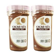 Combo 2 hũ bột cacao sữa 3in1 GreenD Food – 90gr/hũ