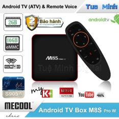 Android TV Box Mecool M8s Pro W – AndroidTV OS, Điều khiển Voice