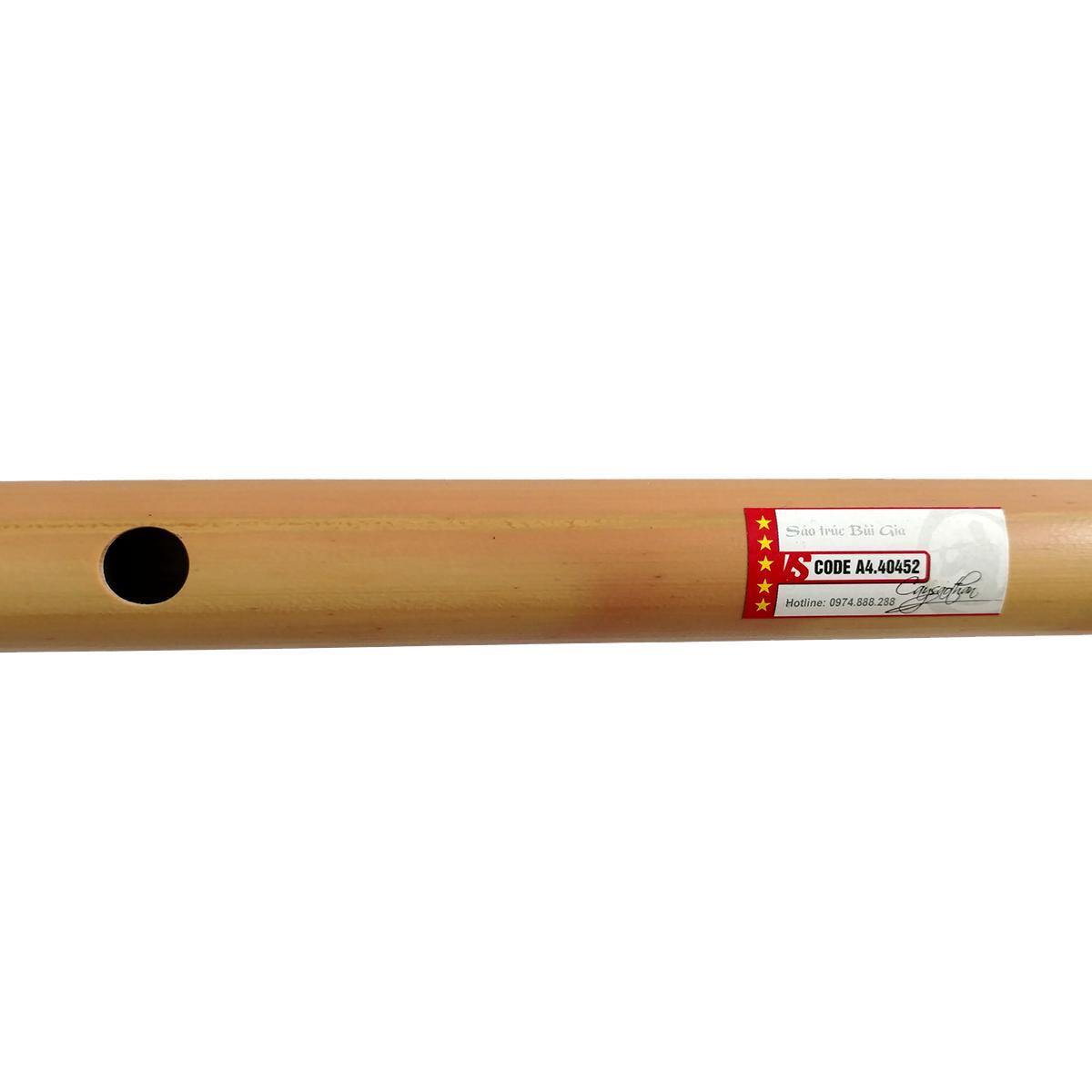 Sáo Trúc Bùi Gia VS5 - Tone D5 - Cây sáo để diễn chuyên nghiệp