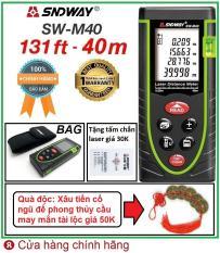 Thước đo khoảng cách bằng tia laser SNDWAY SW-M40 phạm vi đo 40M