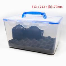 Hộp chống ẩm có tay cầm cho máy ảnh, máy quay phim – dung tích 8 lít (tặng mút xốp lót hộp) – 2TCAMERA-Q01104