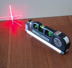 Thước đo khoảng cách bằng laser/thước đo laser cầm tay giá rẻ (Đen) – thước nivo laser