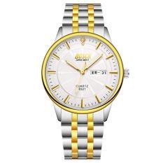 Đồng hồ nam dây thép không gỉ BOSCK JAPAN 8321