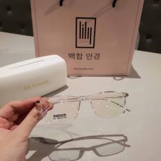 [Lấy mã giảm thêm 30%]Kính Cận Nữ Gọng Dẻo Hàn Quốc 511-Kính Gọng Dẻo-Gọng Kính Cận-Kính Cận Unisex-Gọng Kính Cận Đẹp-Lily Eyewear
