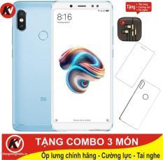 Xiaomi Redmi Note 5 Pro 32GB Ram 3GB Kim Nhung (Xanh) – Hàng nhập khẩu + Ốp lưng + Cường lực + Tai nghe