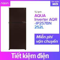Tủ lạnh AQUA Inverter AQR-IP257BN 252L – Hàng phân phối chính hãng