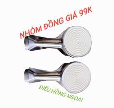 Điếu hồng ngoại-bộ 2 điếu inox hồng ngoại đường kính 90mm ( trắng )