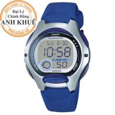 Đồng hồ nữ dây nhựa Casio Anh Khuê LW-200-2AVDF