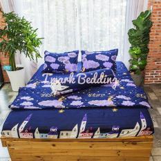 Bộ ga gối giường Cotton Poly Tmark (Sao đêm)