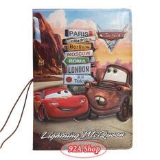 Vỏ hộ chiếu Passport Xe MacQueen 3D