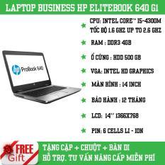 Laptop HP PROBOOK 640 G1 Intel Core i5- 4200U Ram 4GB Ổ cứng HDD 500GB Màn 14inch (tặng cặp chuột – không dây)