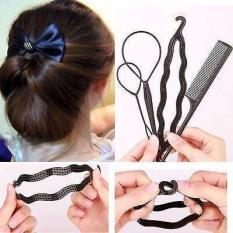 Bộ 4 dụng cụ tạo kiểu tóc độc đáo
