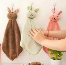 Khăn lau tay nhà bếp hình chú thỏ đáng yêu