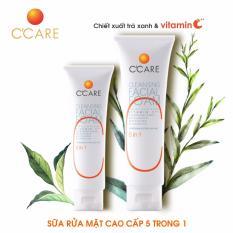 C'Care Sữa rửa mặt Cao cấp 5 tác dụng 50g – Chiết xuất Trà xanh và Vitamin C