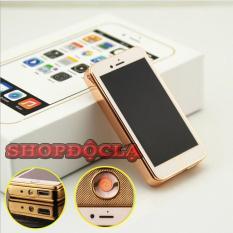 Bật lửa sạc điện hồng ngoại hình iphone nắp trượt đời mới , bật lửa hồng ngoại , bật lửa sạc pin , bật lửa hình iphone tặng kèm hộp và dây sạc cao cấp