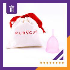 Cốc nguyệt san Ruby Cup, nhập khẩu chính hãng Anh (UK), màu Hồng (size S) – Ruby Cup Small Pink