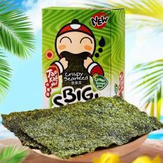 Snack rong biển Big Sheet Taokaenoi vị truyền thống 4g x 12 bịch