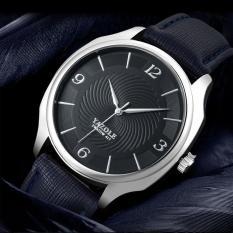 Đồng hồ nam Yazole D12 Classic dây da cao cấp hiển thị Analog