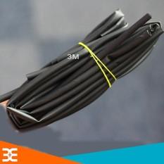 Địa Chỉ Bán Bộ 5 Ống Gen Co Nhiệt, Cách Điện Đường Kính 6mm, mỗi ống dài 1m ( Đen )