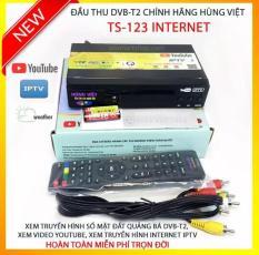 Đầu thu kỹ thuật số DVB T2 HÙNG VIỆT TS 123 Internet