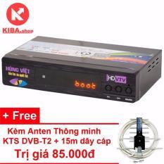 Đầu thu kỹ thuật số Hùng Việt DVB T2 TS123 – Tặng Anten KTS DVB-T2 trị giá 85.000đ