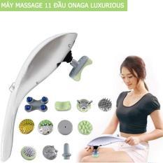 Máy massage hồng ngoại cầm tay 11 đầu CÔNG NGHỆ NHẬT BẢN