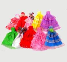 Bộ 05 Váy Đầm Dạ Hội Dành Cho Búp Bê 30cm