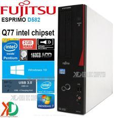 Máy tính đồng bộ nhật bản FUJITSU D582/G – Q77 Chipset CPU G2030/ 2GB ram / 160GB ổ cứng Siêu bền