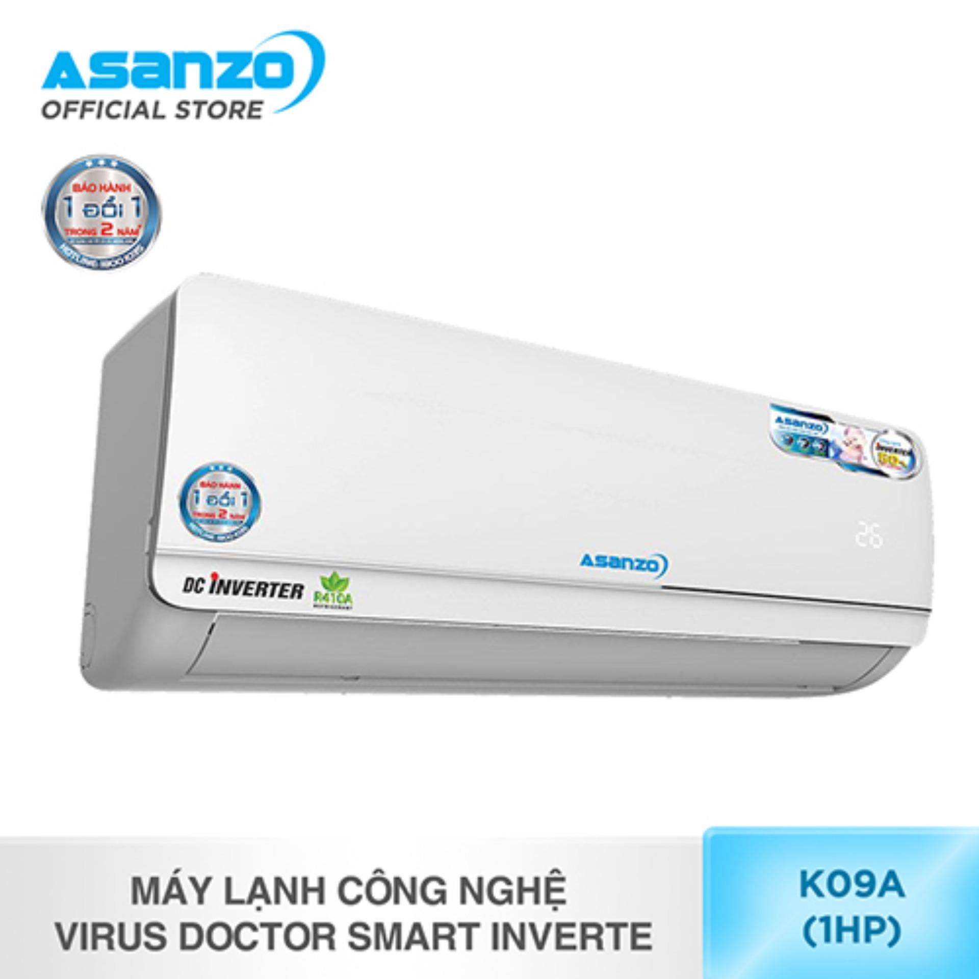 Kết quả hình ảnh cho máy lạnh asanzo k09A