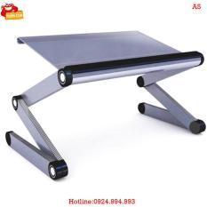 Bàn laptop Huy Tuấn BN Omax A5 (Trắng)