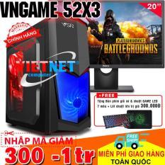 Máy tính chơi game VNGame 52X3 i5 2400 gtx 750Ti Ram 8GB Hdd 500GB + Dell 20 inch