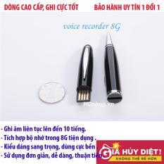 Bút ghi âm 8G Cao cấp, Thời Trang, Sang