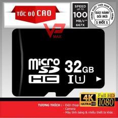 Thẻ nhớ Micro SD 32GB 16GB Class 10 Tốc độ 100Mb/s U1 siêu bền