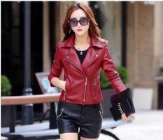 Áo khoác da nữ thời trang Hàn Quốc phối túi ngang cao cấp – Thời Trang Havis – ADNCVN005