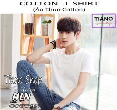 Áo Thun Nam Cotton Tay Ngắn Phong Cách Hiện Đại HLN ( Nhiều Màu )