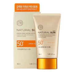 Kem chống nắng Natural Sun Eco Power Long Lasting Sun Cream SPF50+ PA+++ The Face Shop