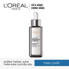 Tinh chất tăng cường dưỡng da trắng mịn và giảm thâm nám L'Oréal White Perfect Clinical 30ml