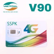 Sim 4G Viettel V90 miễn phí gọi nội mạng, 60gb 4G, 50 phút ngoại mạng- V90 simsophukien Đang Bán Tại simsophukien