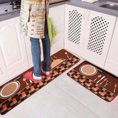 Bộ 02 thảm nhà bếp 40 x 60 và 40 x 120 cm (giao mẫu ngẫu nhiên)