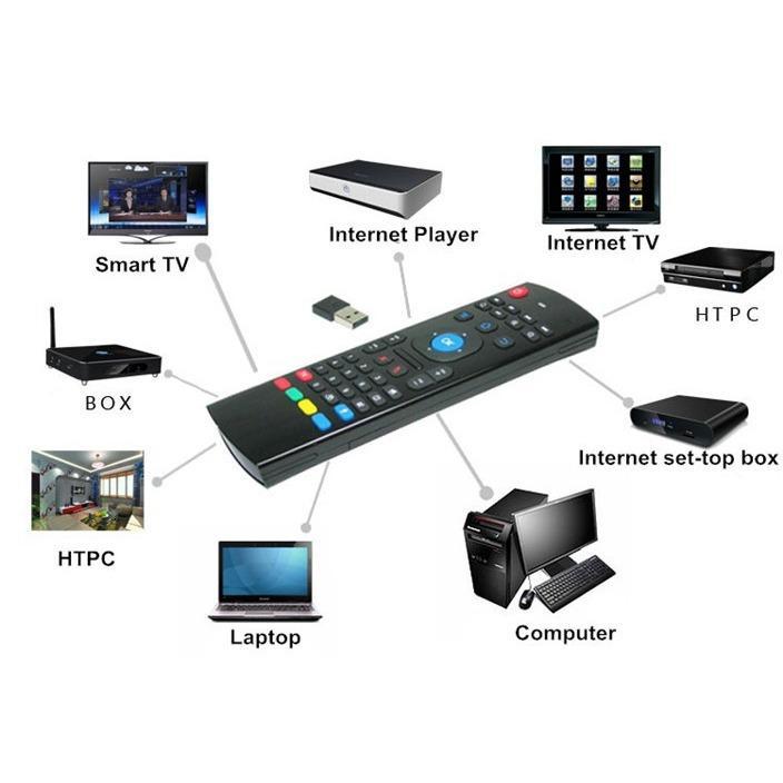 Chuột bay không dây KM800 cho Smart TV
