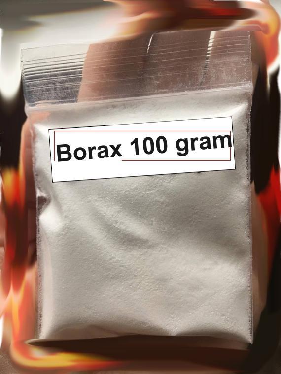 Bột borax mỹ 100 gram- chất làm đông slime