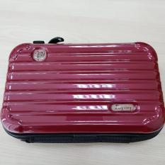 [M214-156] Túi vali cốp mini đang gây bão giới trẻ – Loại mới sơn bóng + dây đeo chéo + dây đeo cầm tay, không đụng hàng